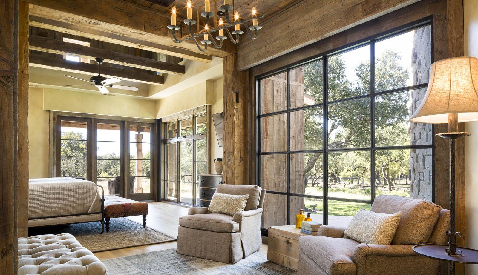 Llano ranch j christopher architecture for Planimetrie ranch con 2 master suite